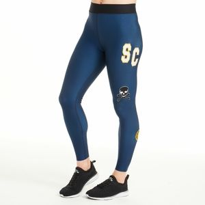 ULTRACOR SoulCycle Blue Embellished Leggings Sx XS